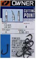 Owner háčik  s očkom + cutting point  5106 - Veľkosť 8