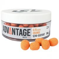 Daiwa Semi Buoyant Hookbait Orange Chocolate 30 g - 6-8 mm