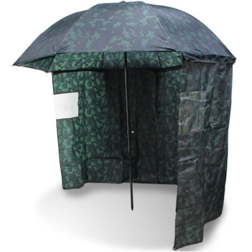NGT Dáždnik s bočnicou kamuflážny 220cm