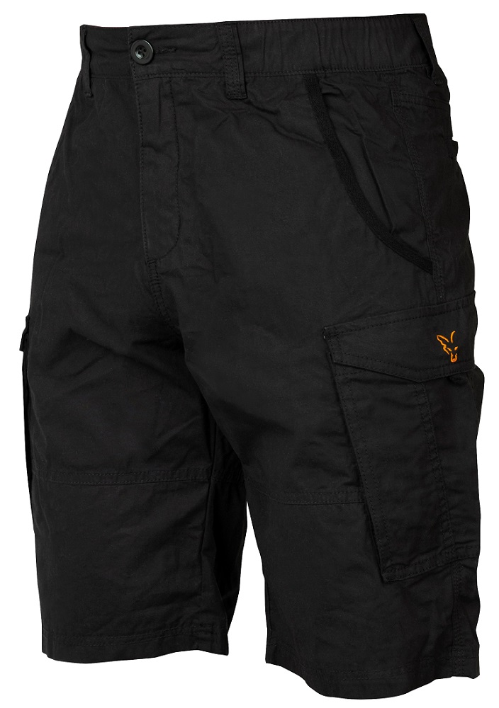 Fox kraťasy collection black orange combat shorts-veľkosť s