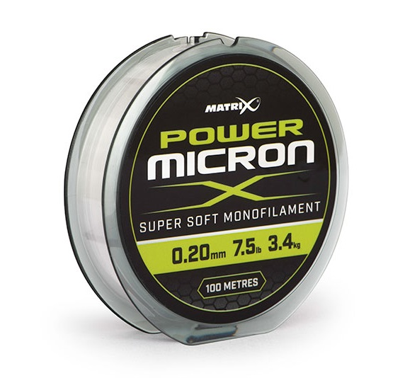 Matrix vlasec power micron x 100 m - 0,16 mm - 2,5 kg
