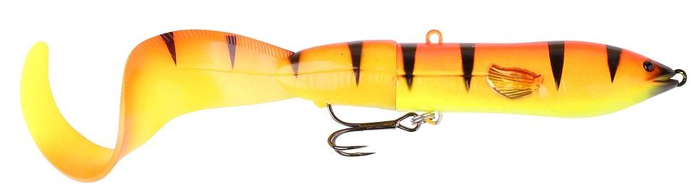 Savege gear 3d hard eel tail bait golden ambulance 25 cm 109 g