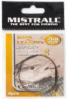MISTRALL Oceľové Lanko Wire Leaders 35 cm-15 kg