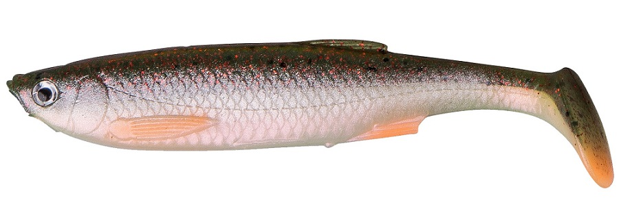 Savage gear gumová nástraha lb 3d bleak paddle tail green pearl s-8 cm 4 g 5 ks