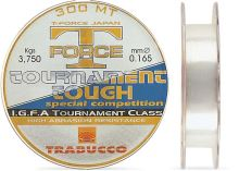 Trabucco  Vlasec  T-Force Tournament Tough 150 m Crystal-Priemer 0,255 mm / Nosnosť 8,40 kg