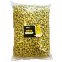 Carpway Pelety Kukuričné Žlté S Dierou 12 mm 10 kg