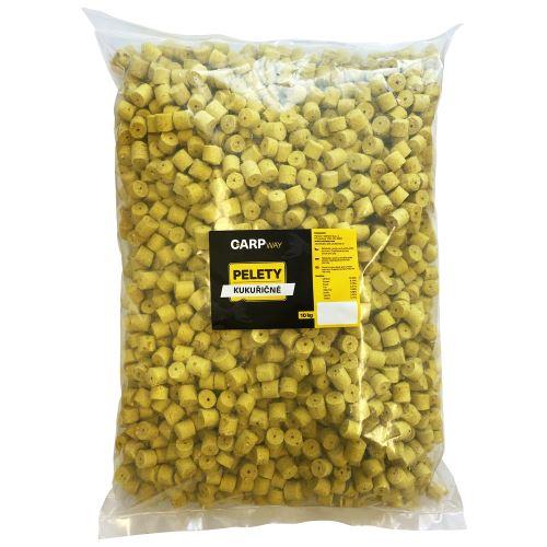 Carpway Pelety Kukuričné Žlté S Dierou 10 kg