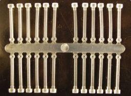 Extra carp silicone boilie holder číra-18mm