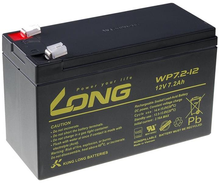 Long bateria 12v 7,2ah f2
