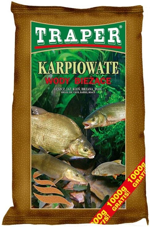 Traper krmítková zmes popular karp na tečúcu vodu 5 kg