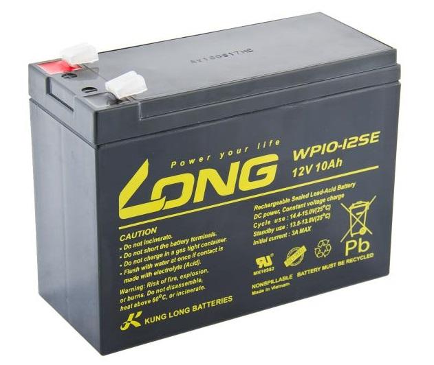 Long bateria 12v 10ah deepcycle agm f2