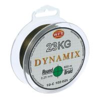 WFT Splietaná Šnúra Round Dynamix KG Zelená - 150 m 0,10 mm 10 kg