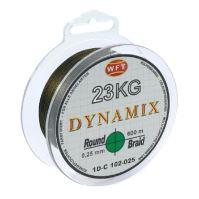 WFT Splietaná Šnúra Round Dynamix KG Zelená - 150 m 0,25 mm 23 kg