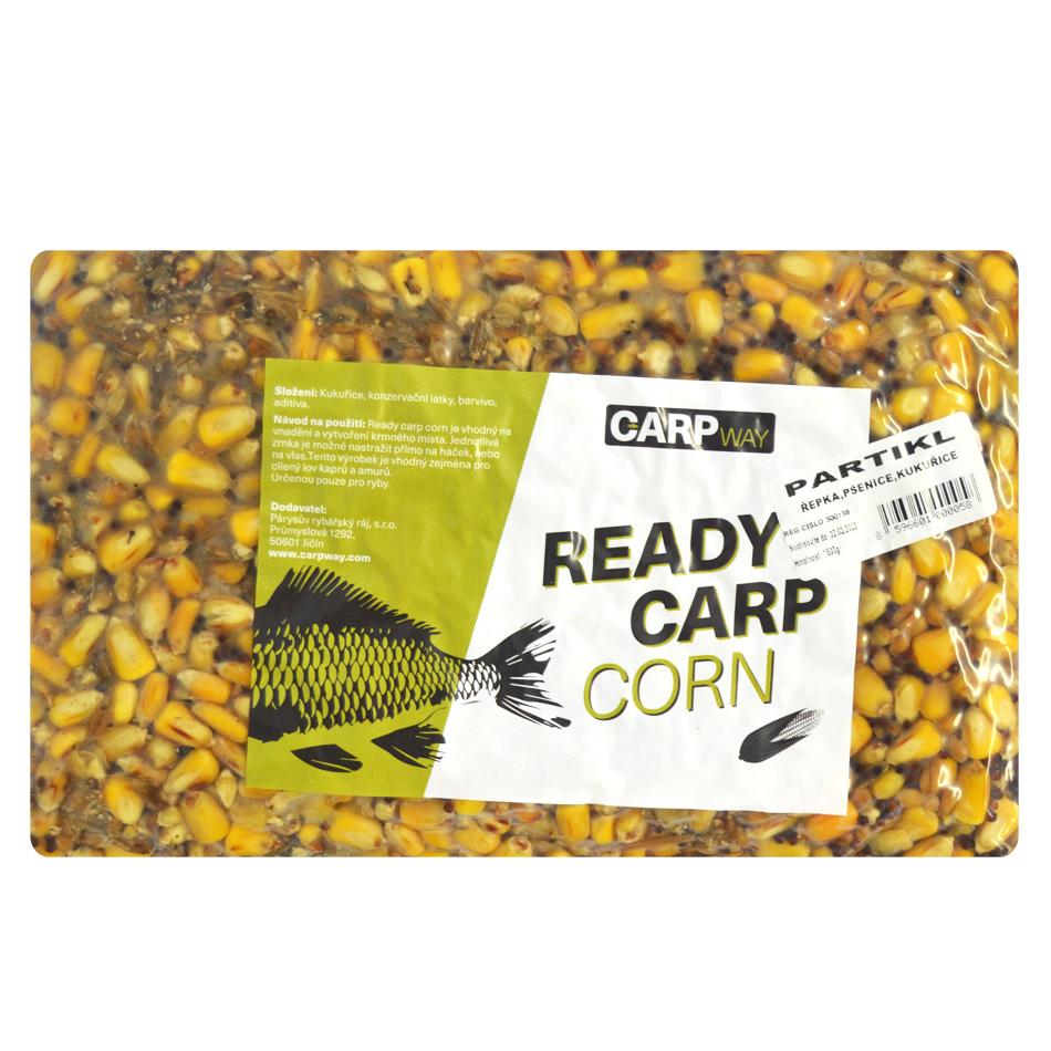 Carpway kukurica ready carp corn 1,5 kg - natural chilli