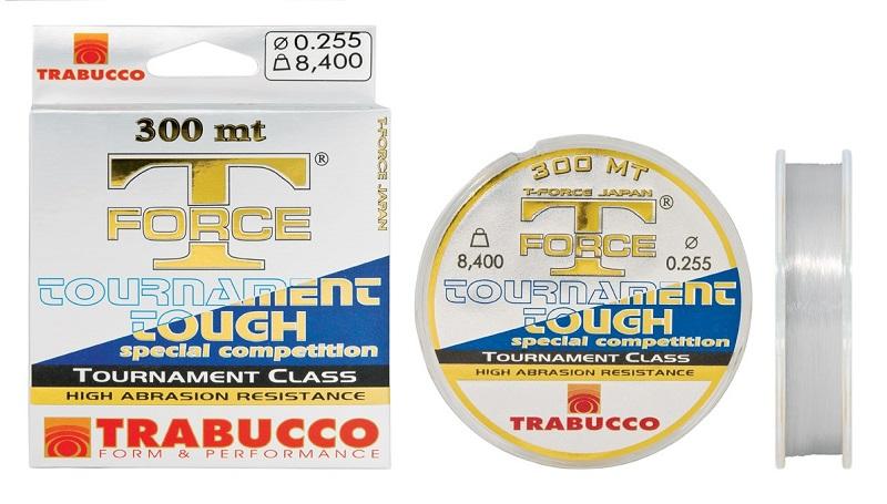 Trabucco vlasec t-force tournament tough 300 m-průměr 0,205 mm / nosnost 5,5 kg