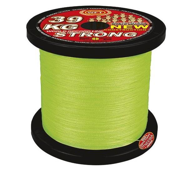 Wft šnúra kg strong chartreuse 2000 m - 0,08 mm 10 kg