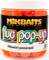 Mikbaits Plávajúce Boiles Fluoro 250 ml 14 mm-Polnočný pomaranč