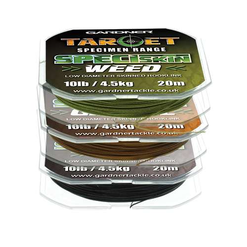Gardner nádväzcová šnúra target speciskin 20 m-nosnosť 10 lb / farba zelená