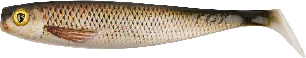 Fox rage gumová nástraha pro shad super naturals chub-18 cm