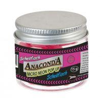 Anaconda micro neón pop-up bez príchute 15g 10 mm-Bílá