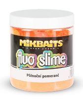 Mikbaits Obaľovací Dip Fluo Slime 100 g-Polnočný Pomaranč