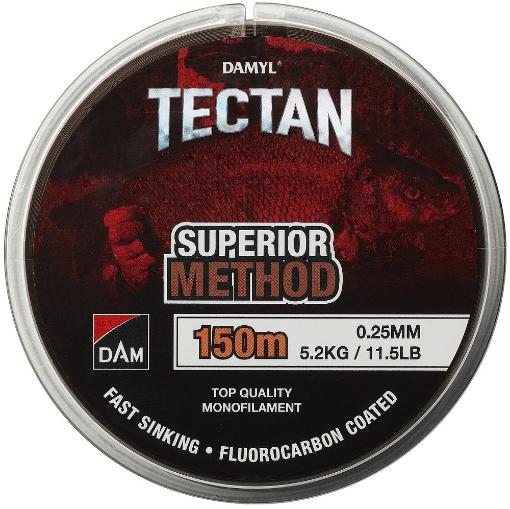 Dam vlasec damyl tectan method hnedý 150 m - 0,25 mm - 5,2 kg