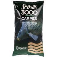 Sensas Kŕmenie Carpes 3000 1 kg - Kapor Jemný