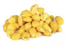 Mikbaits nakládaný partikel 1 kg - Kukurica Polnočný Pomaranč