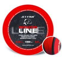 Jet Fish Senzor line Red 1000 m-Priemer 0,28 mm / Nosnosť 8,6 kg