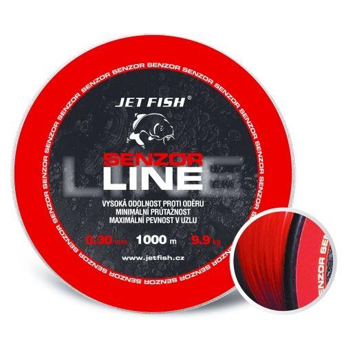 Jet Fish Senzor line Red 1000 m
