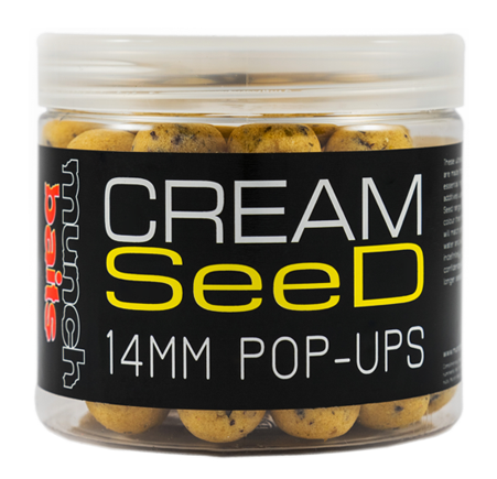 Munch baits pop-ups cream seed 200 ml-18 mm