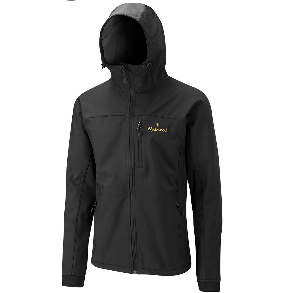 Wychwood bunda softshell jacket čierna-veľkosť xl