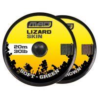 Dam Náväúzcová Šnúra Lizard Skin Soft Brown 20 m -  20 lb