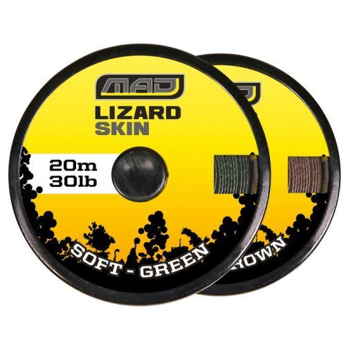 Dam Náväzcová Šnúra Lizard Skin Semi Stiff Brown 20 m