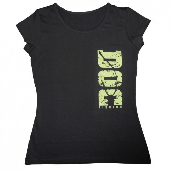Doc fishing tričko dámske doc čierna - m