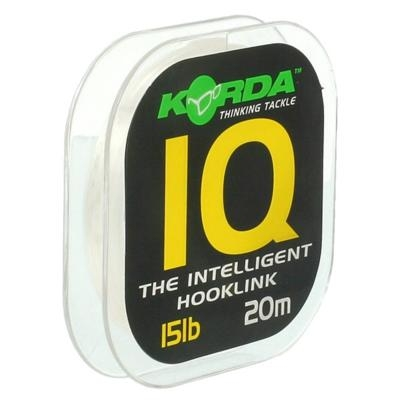Korda fluorocarbon  iq the intelligent hooklink 20 m-nosnosť 10 lb