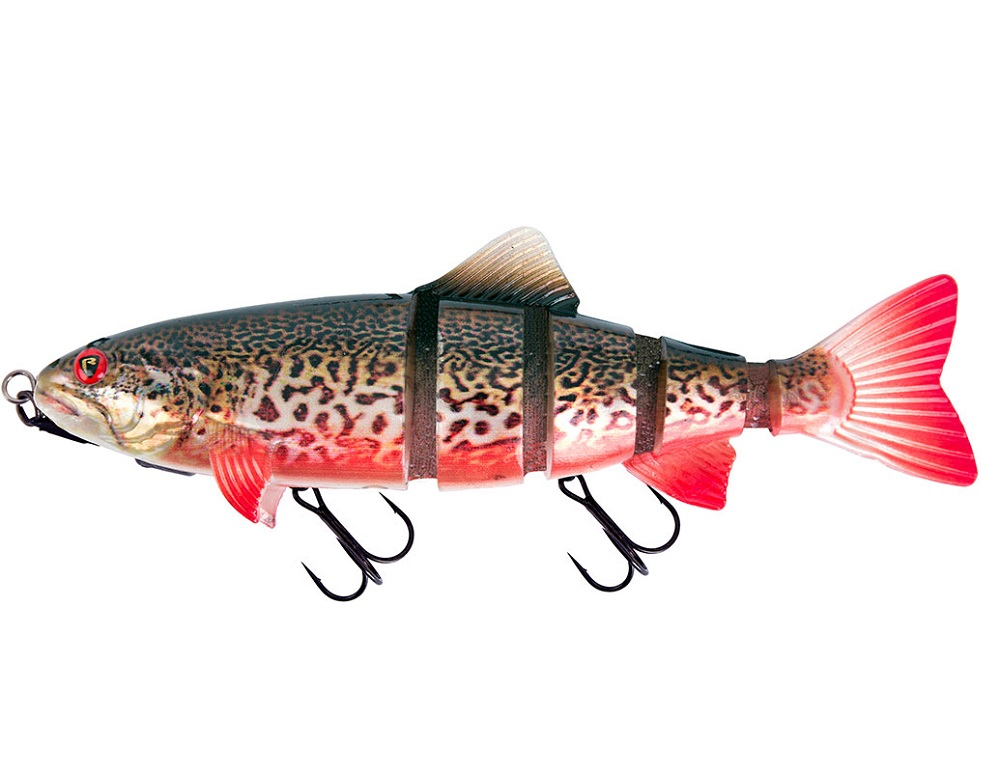 Fox rage gumová nástraha replicant realistic trout jointed shallow supernatural tiger trout - 18 cm 77 g