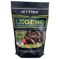 Jet Fish Extra Tvrdé Boilie Legend Range Bioenzym Fish 250 g - 20 mm