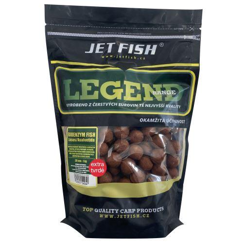 Jet Fish Extra Tvrdé Boilie Legend Range Bioenzym Fish 250 g
