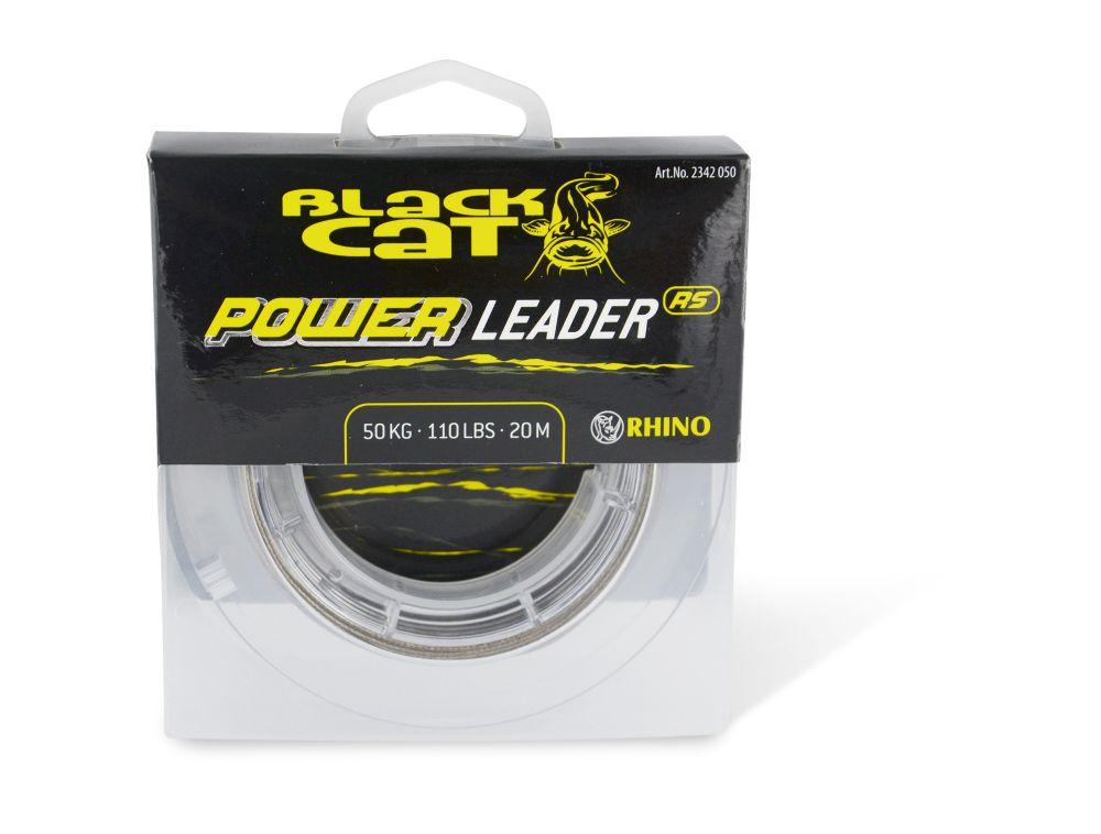 Black cat náväzcová šnúra sumcová power leader 20 m sand-priemer 1 mm / nosnosť 80 kg