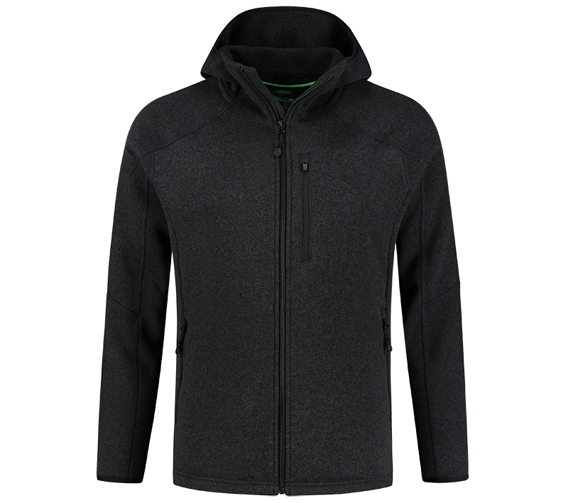Korda mikina kore polar fleece jacket black - m