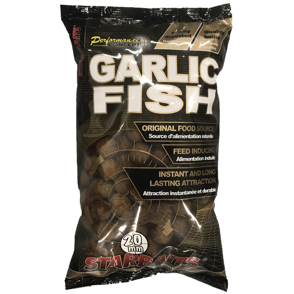 Starbaits boilie garlic fish-2,5 kg 14 mm