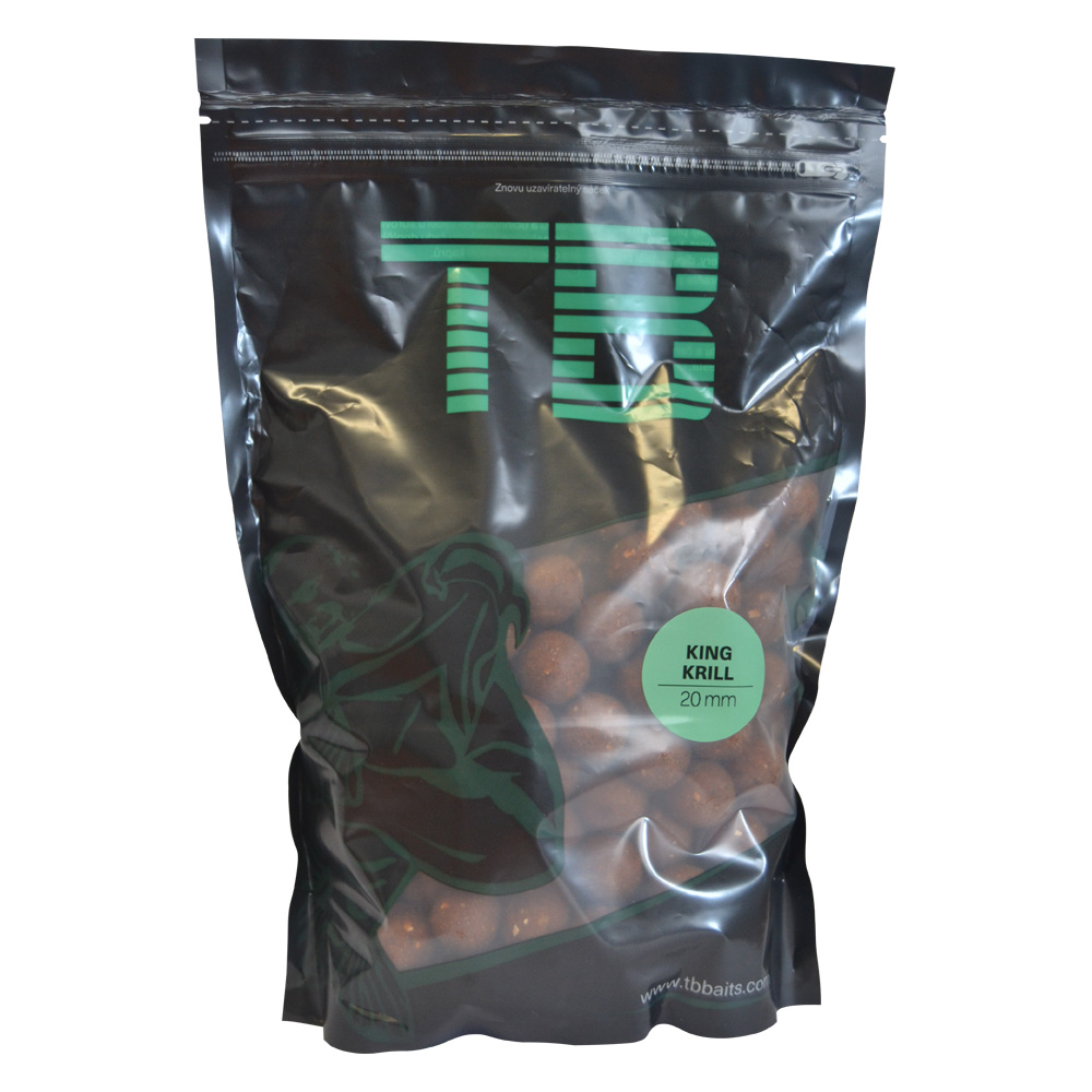 Tb baits boilie king krill-2,5 kg 24 mm