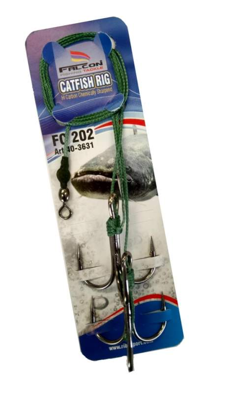 Falcon sumcový nadväzec catfish rig fc 202 90 cm 110 kg 5/0