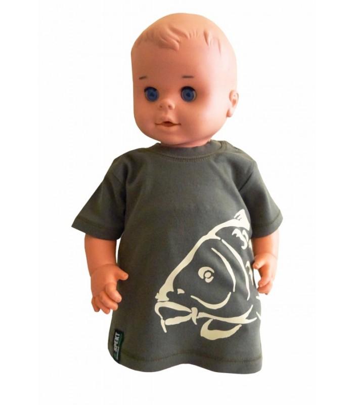 R-spekt baby tričko khaki - 3-6 mes