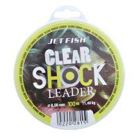 Jet Fish Clear Shock Leader Crystal 100 m-Priemer 0,50 mm / Nosnosť 11,4 kg
