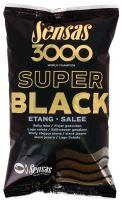 Sensas krmítková zmes 3000 Dark Salty (Čierne - slané) 1 kg-Etang