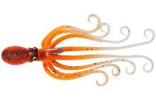 Savage Gear Gumová Nástraha 3D Octopus Orange Glow UV - 10 cm 35 g