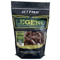Jet Fish  Boilie LEGEND Bioenzym fish + A.C. Losos - 250 g 20 mm
