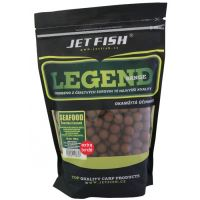 Jet Fish Extra Tvrdé Boilie Legend Range Seafood Švestka Česnek 30 mm 250 g